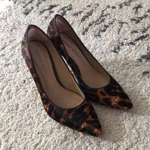 Antonio Melani Animal Print Heels Size 7.5